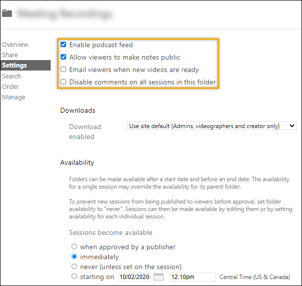 UICapture - Folder Defaults